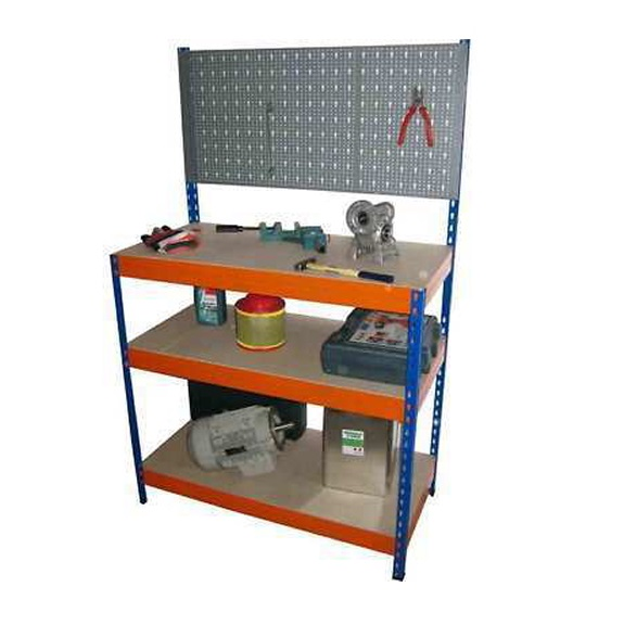 100 cm wide garage tool workbench hobby workstation for Diy garage packages